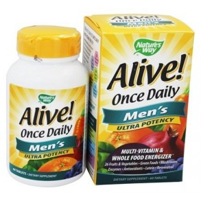 Alive Daily Men's Multivitamins