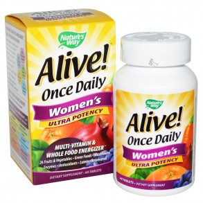 Alive Once Daily Womens Multi 60 Caps